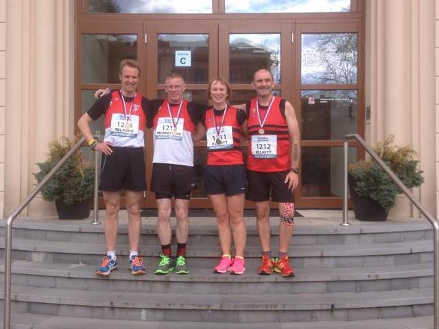 East Lothian runners in Pardubice 2015