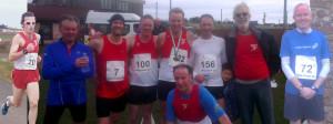 HRC Runners at 2015 Dunbar Spire 10k